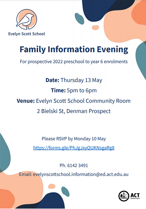 Family info evening